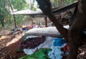 Operação desmonta acampamento de quadrilha no subúrbio ferroviário | Foto: Divulgação | SSP
