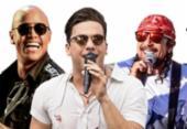 Safadão, Léo Santana e Bell Marques estreiam o
