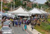 Nova via que liga a avenida Paralela ao Barradão é inaugurada | Foto: Luciano da Matta l Ag. A TARDE