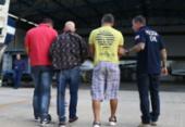 Suspeitos de sequestrar ex-prefeito de Valença são transferidos para Salvador | Foto: Divulgação | SSP-BA