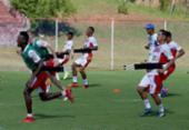 Bahia tem sábado de treino físico no Fazendão | Foto: Felipe Oliveira l Ag. A TARDE
