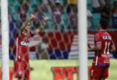 Com direito a dancinha, Bahia vence o Náutico pela Copa do Nordeste | Foto: Adilton Venegeroles l Ag. A TARDE