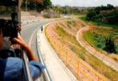 Nova via que liga a avenida Paralela ao Barradão é inaugurada | Foto: Luciano da Matta | Ag. A TARDE