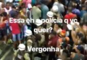 Bruno Gagliasso publica agressões de policiais contra foliões no Carnaval | Foto: Reprodução | Instagram