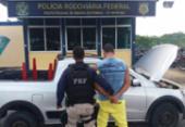 Homem é preso com carro roubado em Ribeira do Pombal | Foto: Divulgação | PRF-BA