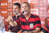 Ricardo David lamenta confusão e garante Vágner Mancini como técnico | Foto: Maurícia da Matta l EC Vitória