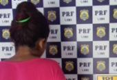 Mulher é presa na BR-116 por transportar crack e cocaína | Foto: Divulgação | PRF