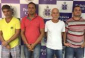 Sequestradores de ex-prefeito baiano são presos enquanto faziam divisão do dinheiro | Foto: Divulgação | Polícia Civil