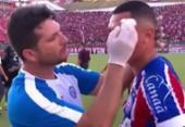 Vinícius presta queixa de agressão contra jogadores do Vitória | Foto: Reprodução