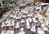 Familiares de estudante clamam por justiça | Foto: Alessandra Lori l Ag. A TARDE