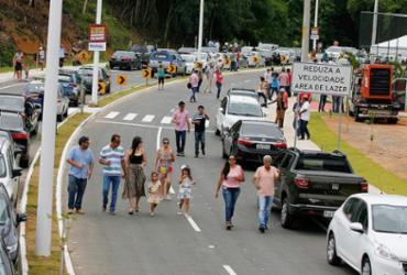 Nova via Mário Sergio desafoga o trânsito na região do Barradão | Luciano da Matta l Ag. A TARDE