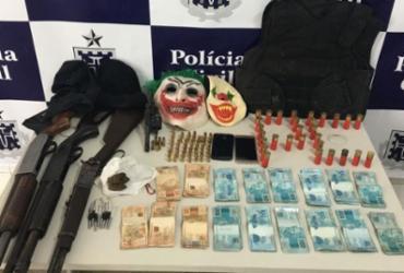 Trio é preso suspeito de explodir agências bancárias no interior da Bahia | Divulgação | Polícia Civil