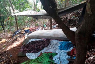Operação desmonta acampamento de quadrilha no subúrbio ferroviário | Divulgação | SSP