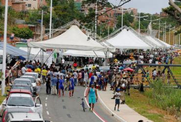 Nova via que liga a avenida Paralela ao Barradão é inaugurada