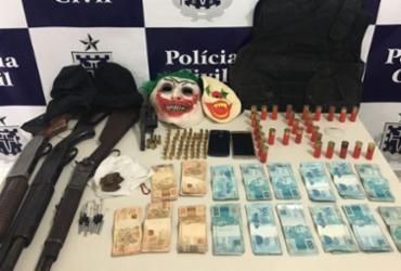 Três suspeitos de roubo a bancos são presos em Itapetinga | Divulgação | Polícia Civil
