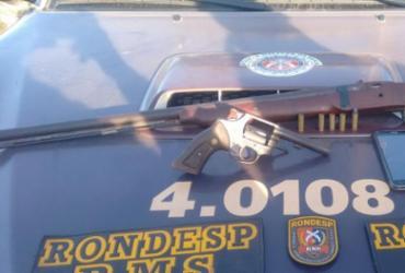Homem morre e gêmeos de 17 anos são apreendidos após confronto com polícia | Divulgação | SSP-BA