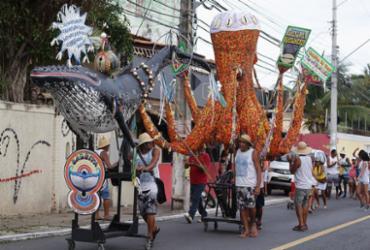 'Carnapuã' termina com desfile das baleias | Joá Souza l Ag. A TARDE