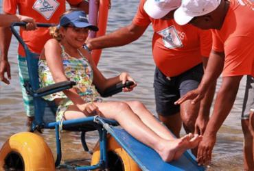 Praia de Itacimirim recebe o Projeto ParaPraia