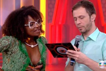 BBB18: Nayara é eliminada com 92,69% dos votos e é criticada por Leifert | Reprodução | TV Globo