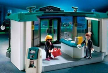 Brinquedo é retirado do mercado por simular assalto a banco | Reprodução