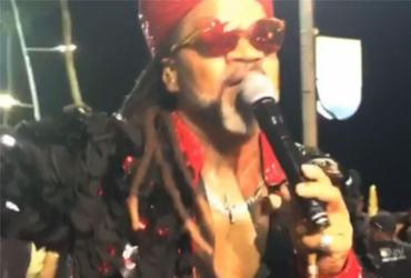 Brown se despede do Carnaval com Arrastão da Meia-Noite | Reprodução | Instagram