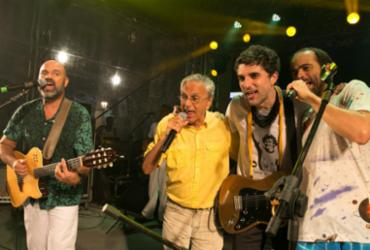 Caetano faz participação surpresa em homenagem a Moraes Moreira | Divulgação | Secom