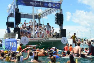 Baía de Todos-os-Santos vira palco de Carnaval Naútico | Divulgação