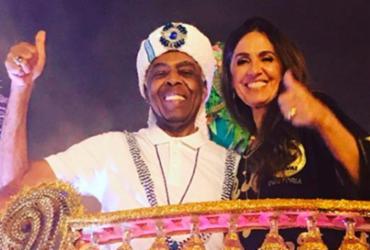 Gilberto Gil é homenageado pela escola de samba Vai-Vai | Reprodução | Instagram