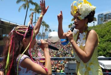 Blocos infantis animam o Carnaval da criançada neste sábado | Mila Cordeiro | Ag. A TARDE | 10.02.2018