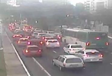 Barreiras para Carnaval geram congestionamento nas proximidades dos circuitos | Divulgação | Transalvador