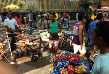 Grupo de baleiros protesta na entrada do circuito Dodô | Juracy dos Anjos | Ag. A TARDE