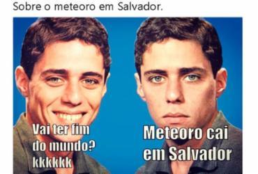 'Clarão' no céu de Salvador vira meme nas redes sociais | Reprodução | Twitter