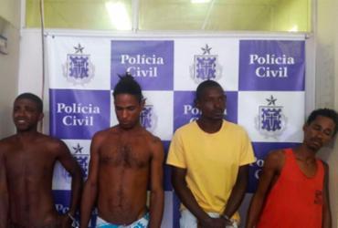 Quatro suspeitos de assaltos a ônibus são presos na Cidade Baixa | Divulgação | SSP-BA