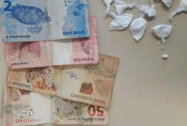 Homem é preso com cocaína no circuito Dodô   Divulgação   PC-BA