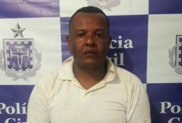 Preso suspeito de liderar tráfico no interior da Bahia | Divulgação | PC-BA