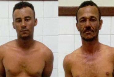 Dupla suspeita de homicídio é presa na Chapada Dimantina | Divulgação | SSP