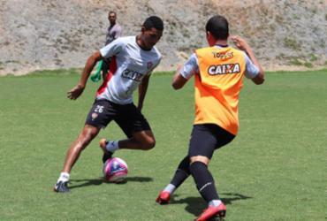 Vitória encerra preparação para jogo contra Jacuipense | Maurícia da Matta | EC Vitória