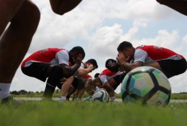 Vitória finaliza preparação para enfrentar o ABC pelo Nordestão | Divulgação | E. C. Vitória