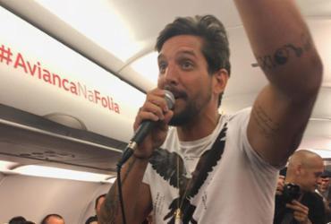 Banda Eva inicia Carnaval com show nas alturas em voo da empresa Avianca | Igor Régis l Divulgação