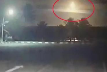 Meteoro pode ter provocado clarão em Salvador, diz professor da Ufba | Reprodução l ATARDETV