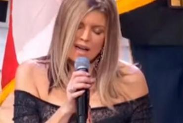Fergie se desculpa após cantar versão 'sexy' do hino nacional dos EUA | Reprodução | Youtube