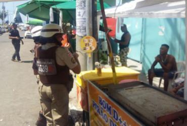 Jovem é preso em flagrante após agredir mulher no circuito Dodô   Divulgação   SSP