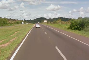 Homens armados roubam carro na BR-324   Reprodução   Google Street View