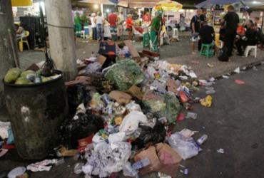 Mais de 715 toneladas de resíduos são recolhidos durante Carnaval | Luciano da Matta | Ag. A TARDE