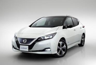 Nissan Leaf recebe nota máxima em crash test   Divulgação