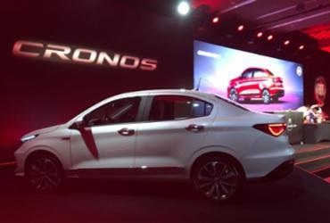 Fiat Cronos tem visual arrojado e parte de R$ 53,9 mil | Marcos Antônio Jr. | Ag. A TARDE