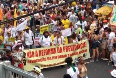 Chuva, protestos e folia marcam a Mudança do Garcia em Salvador | Yuri Silva | Ag. A TARDE