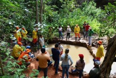 Primeira nascente de rio em São Desidério está sendo recuperada