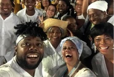 Primeiras cenas do 'Ó paí, Ó 2' são gravadas na festa de Iemanjá | Reprodução | Instagram