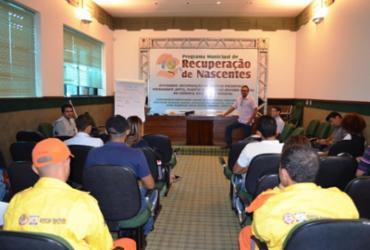 Capacitação marca início dos trabalhos para a recuperação de nascentes em São Desidério